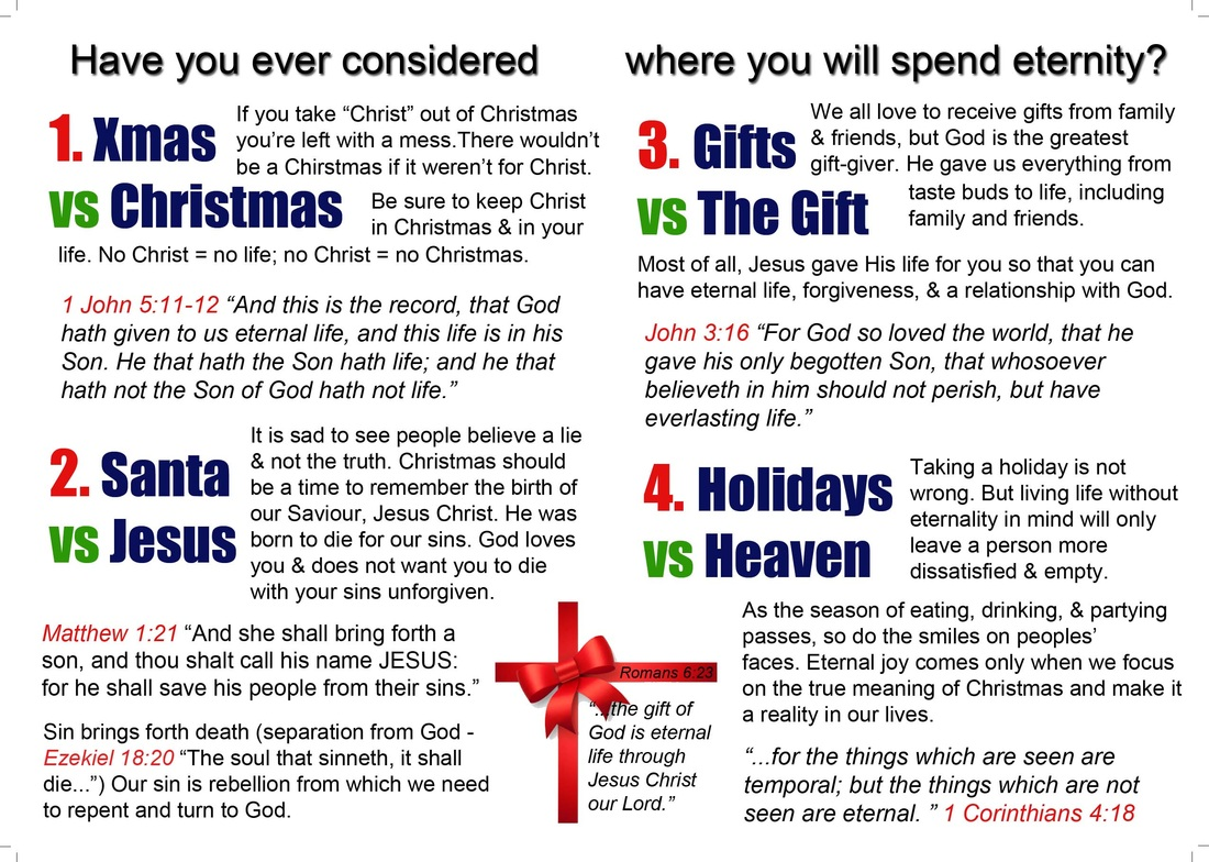 True Meaning of Christmas - Grace Bible Baptist Church